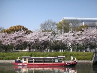 水上の特等席!堀川お花見クルーズメインイメージ