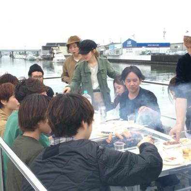 【貸切】名古屋港バーベキュークルーズ(お手軽食材セットプラン)メインイメージ