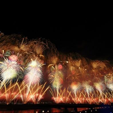 日本三大花火大会の一つ! 長岡まつり花火大会メインイメージ