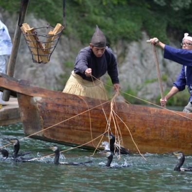 Voir la pêche au cormoran sur une barque et la visite guidée du Château d'Inuyamaメインイメージ