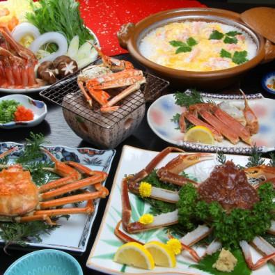 北陸かにフルコースと甘えび食べ放題&北陸スイーツ5種食べ比べ!メインイメージ