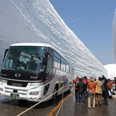 マイカーでは行けない!期間限定!!立山アルペンルート雪の大谷ウオーク~標高2450m天空の世界に直行バスでご案内~メインイメージ