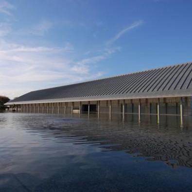 水上に浮かぶ美術館!佐川美術館とラ・コリーナ近江八幡メインイメージ