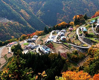 『日本の里100選、日本のチロル下栗の里』~南信州遠山郷秘境の地~メインイメージ