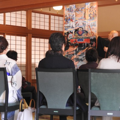 【まちあるき】興正寺で学ぼう!絵解き説法と木曽路のすき焼きランチメインイメージ