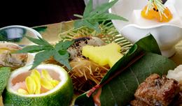里山でのお茶事体験 菓匠「叶菓匠庵」が手掛ける寿長正懐石メインイメージ