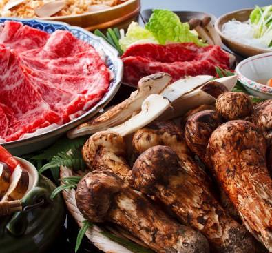 【グルメ】秋の贅沢三昧!!松茸・飛騨牛食べ放題!メインイメージ