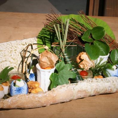 茅葺き屋根建築で楽しむ 旬の食材をふんだんに使った会席料理メインイメージ