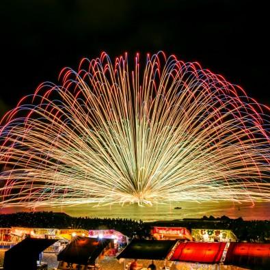 催行決定!国の名勝 鬼ヶ城を舞台に熊野大花火大会メインイメージ