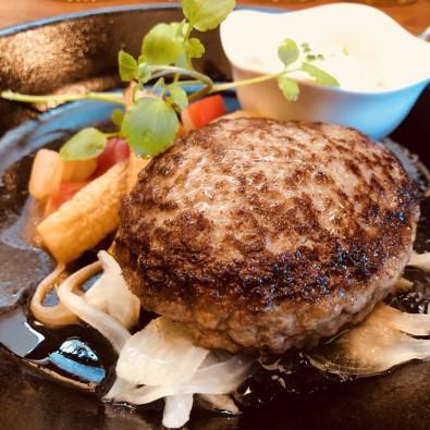 半田ごんの秋まつりと、満席必須の農家レストランで食べる知多牛ジューシーハンバーグメインイメージ