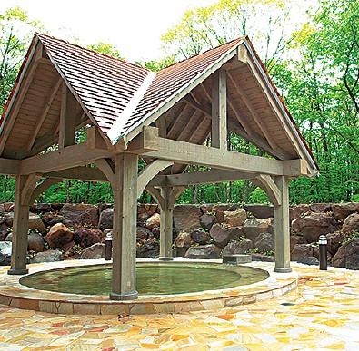 温泉ツアー第44回 牧歌の里温泉『牧歌』~ひろーい湯船、アルカリ泉+ハーブのお湯+露天風呂に癒されて~メインイメージ
