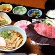 31 飛騨牛朴葉味噌定食