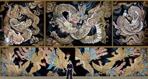 45永福寺天井画