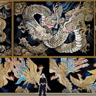 東海地区最大級!畳64畳分の天井画 永福寺と、掛川城ガイド付き散策 ~選べる18種類の御朱印~メインイメージ