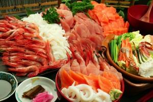 月うさぎの里 海鮮丼のっけ放題