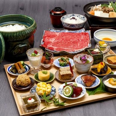 「柿安料亭本店」で味わうすき焼き御膳と桑名の「六華苑」メインイメージ