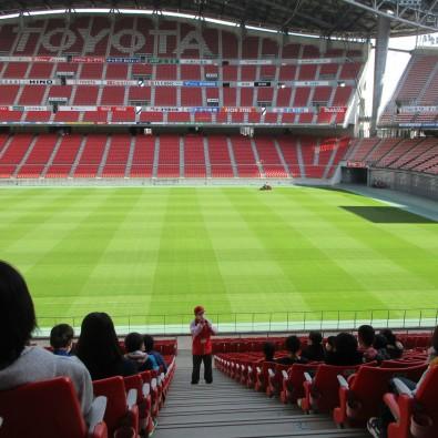 豊田スタジアム見学~個人では見れない、あの興奮の裏側をのぞいてみよう!~メインイメージ