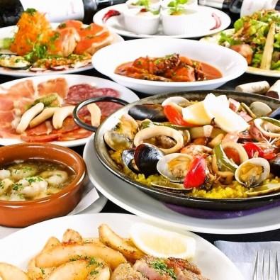 日本にいながらスペイン気分♪ミシュラン獲得「カラカルメン」本場スペイン料理とフラメンコショーメインイメージ