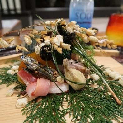 山奥の秘境へ!秘密にしたいレストラン「心根」片山シェフの創作おまかせコースメインイメージ