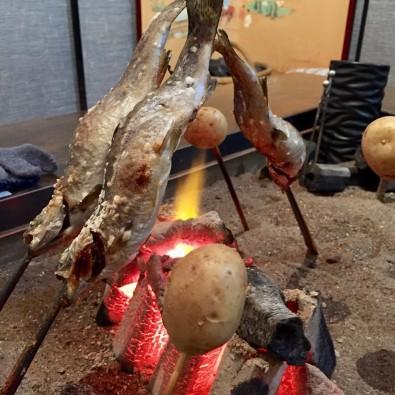 都会にいながら田舎気分♪「料亭長坂」囲炉裏を囲んで食べる秋の味覚コースメインイメージ